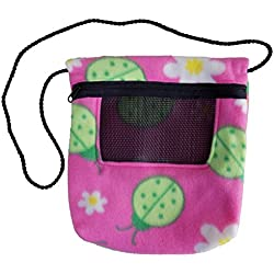 Bonding Carry Pouch (Ladybug) for Sugar Gliders and small pets