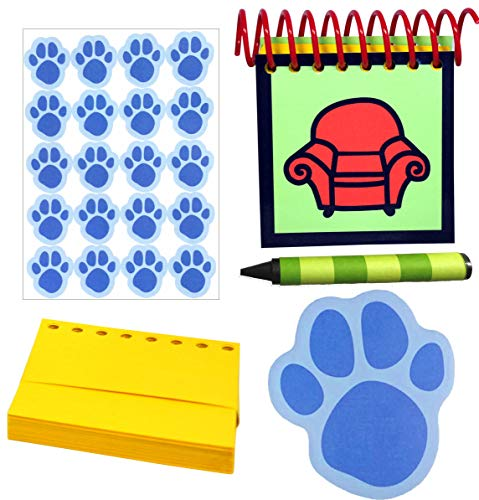 Handcrafted Handy Dandy Inspired Steve Notebook Super Gift Pack (Blues Clues Handy Dandy Notebook)