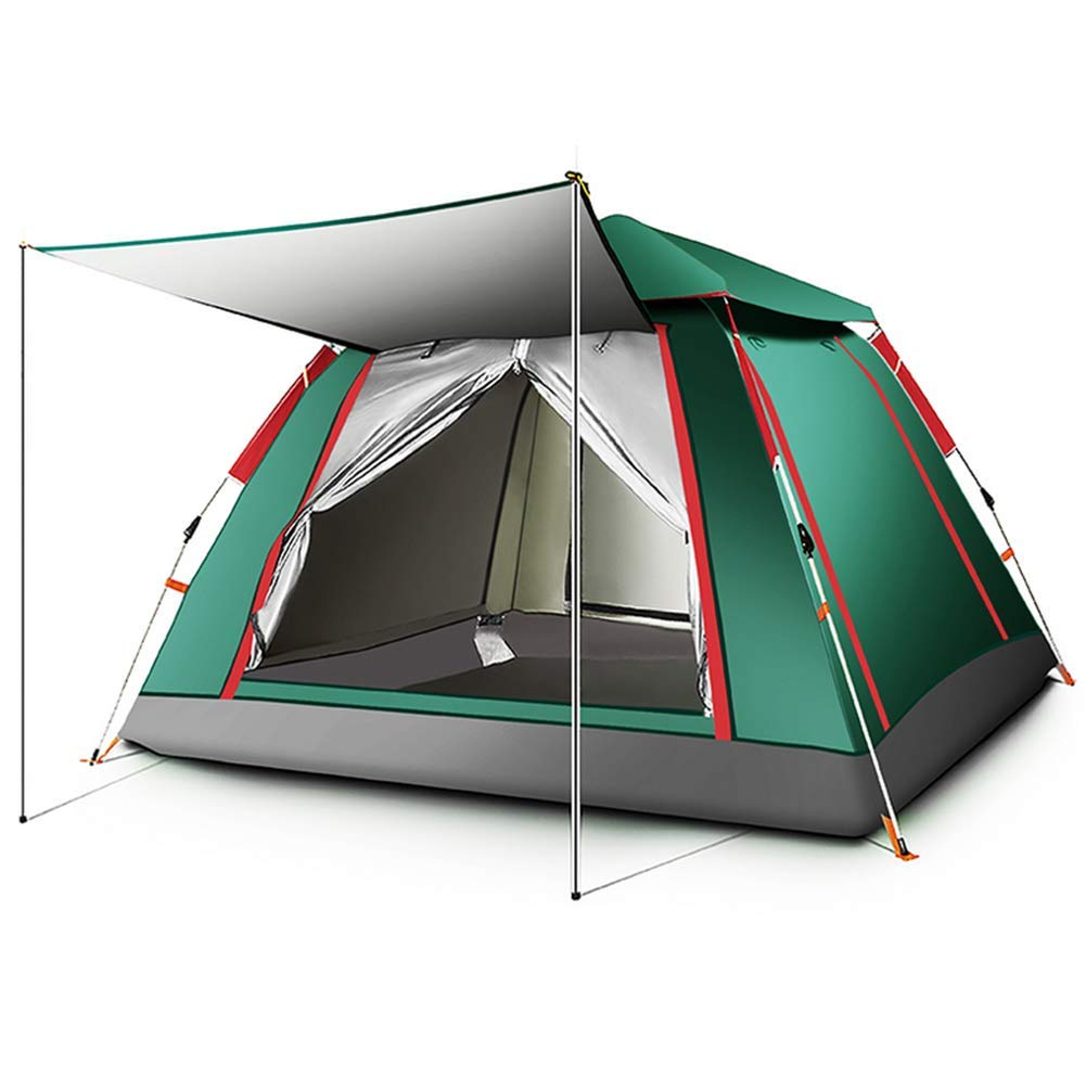 HW Zelt für 4 Personen, Grün