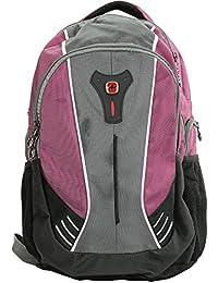 Jupiter Backpack With 16 Laptop Pocket, Raspberry