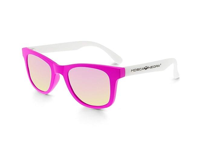 Gafas de sol para niño niña MOSCA NEGRA modelo MIAMI Pink Sakura - Polarizadas - Kid