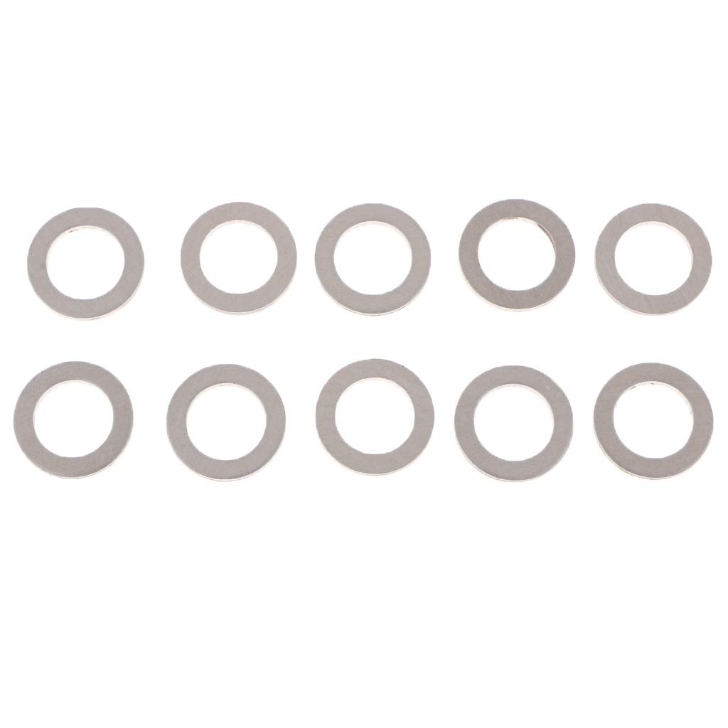 Replacement for The Part # 94109-14000 10x Drain Plug Gaskets Crush Washers Seals Rings for Honda Acura