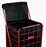 ATHome Folding Shopping Cart Liner with Closable