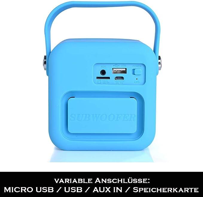 Kuchenradio Badradio Grun Mini Bluetooth Lautsprecher Amazon De Elektronik