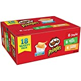 Pringles Snack Stacks Potato Crisps Chips, 3 Flavors Variety Pack, 18 Cups Reviews
