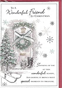 Friend Christmas Card ~ To A Special Friend At Christmas Thinking ...