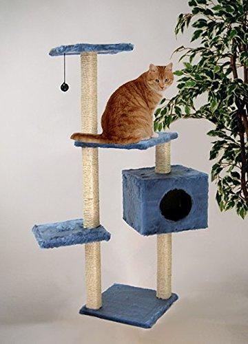 Rascador Árbol para gatos Escalada algodón Salón paisaje la Petite Azul Accesorios: Amazon.es: Productos para mascotas