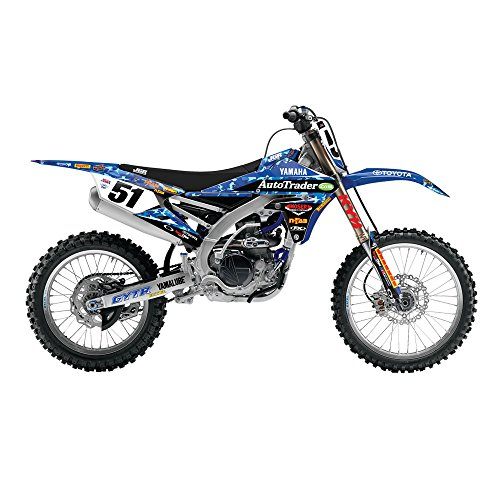Factory Team Graphics (Factory Effex 18-09256 JGR Military Full Trim Graphic Kit)