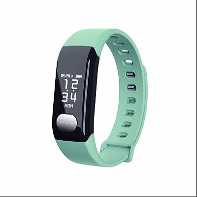 Haute résolution bracelet intelligent extrême mince,bidirectionnel Anti-Lost,Rappel sédentaire,Utilisable pour la course ou la marche à pied,Affichage de la date de l'heure pour Samsung,HTC,Sony,Hua