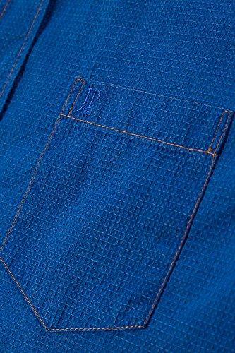 JP 1880 Homme Grandes tailles Chemise manches courtes bleu 4XL 705569 71-4XL