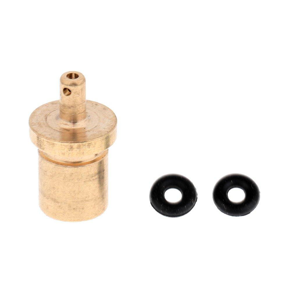 Sharplace Campingkocher Zubeh/ör Ventil Adapter aus Kupfer Campingherd Gas Nachf/ülladapter