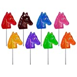 Melville Candy Lollipops, Assorted Western, 1-Ounce Lollipops (Pack of 24)