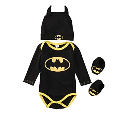 LovSmile Toddler Baby Boy Girl Fancy Bat Halloween Costume Dolman Sleeve Shirt Bat Wing Romper Outfit: Clothing