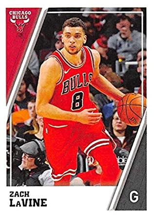 144fa1203 2018-19 Panini NBA Stickers  73 Zach LaVine Chicago Bulls NBA Basketball  Sticker Trading