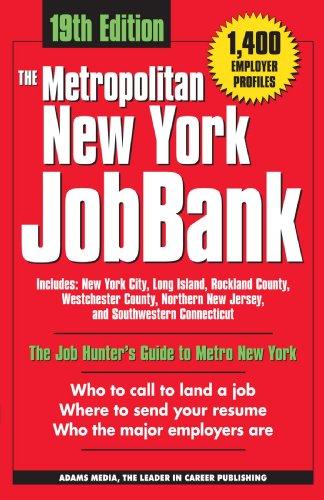 The Metropolitan New York Jobbank (Metroploitan New York JobBank)