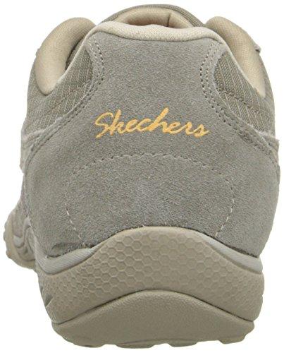Skechers Sport Femmes Respirent Facile Jackpot Mode Sneaker Taupe