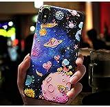 iPhone8Plus カバー iPhone X 保護カバー 3D塗装携帯電話ケース iPhone XS Max 携帯ケース 刺繍 携帯の殻 保護セット iPhone7/8 iPhone7Plus iPhone XSモバイルシェル iphoneX携帯電話ケース iphoneXS/MAX ドロッププロテクション (iPhoneXR ケース)
