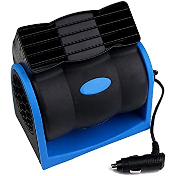 Amazon.com: Portable Cooling Air Fan, 12V DC Electric Car ...