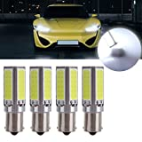 cciyu 1156 Super Bright 20W COB Chips LED Bulbs Replacement fit for Back Up Reverse Lights,4Pack White