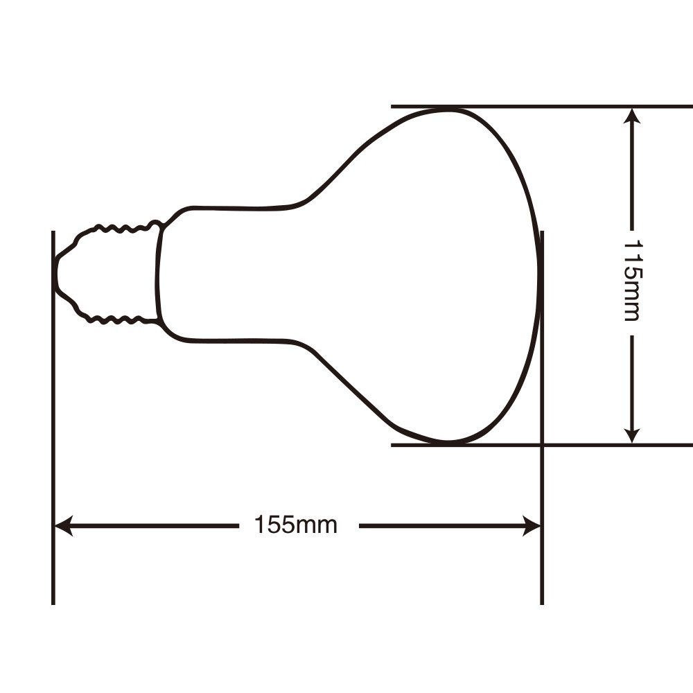 Lucky Herp Reptile Uva Uvb Mercury Vapor Bulb Lamp Ballast Wiring Diagram Screw Thread 125 Watt Coated Pet Supplies