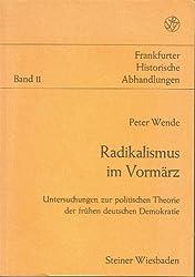 Radikalismus im Vormärz