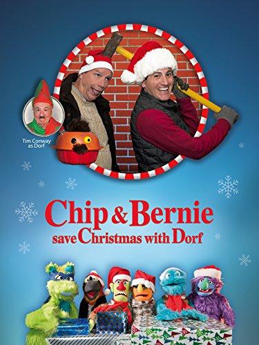 Chip and Bernie Save Christmas with (Zanies Santa)