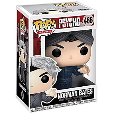Funko POP! Movies: Horror S4: Psycho - Norman Bates: Toys & Games