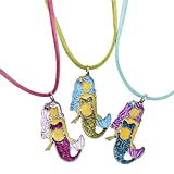 Party Supplies 097138827005 Mermaid Necklace Favors - 12 ct Pack