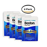 PACK OF 4 - Bausch And Lomb Boston Multi-Purpose Contact Travel Set