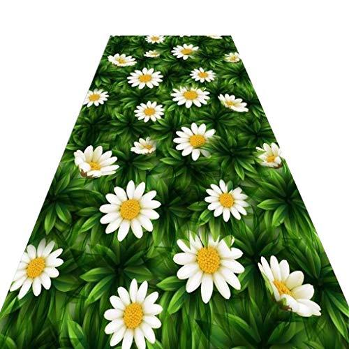 Mbd Carpet Low Pile Entrance Pad Non-Slip Corridor Carpet Aisle Entrance, Soft and Cut (Color : A, Size : 1.22m) ()