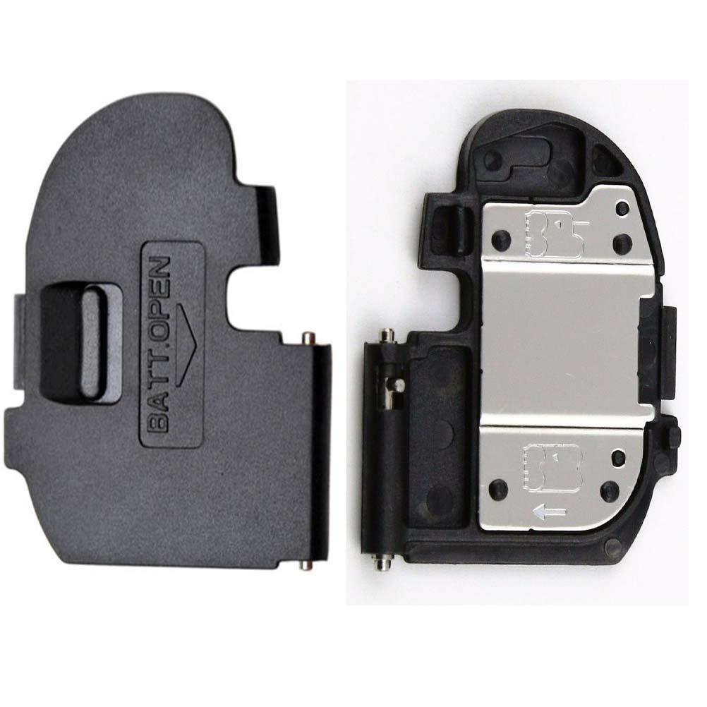 2PCS Battery Cover Door Lid Cap for Canon EOS 20D EOS 30D Camera Repair Part