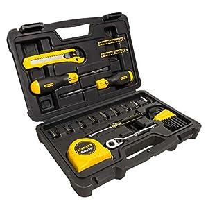 STANLEY STMT0-74864 Kit 51 utensili per la casa in valigetta 20 spesavip