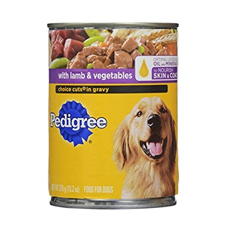 Pedigree Choice Cut Lamb Vegetables Dog Food, 13.2 oz