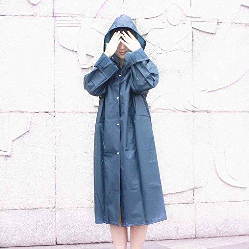 Poncho Eva Raincoat De Imperméable Femmes Voyage Lumière Bleu Extérieur Pluie Les Manteau qF5xtpwCC