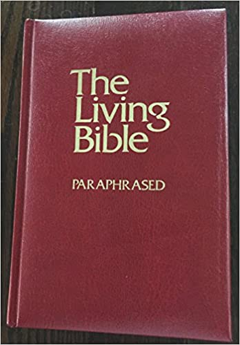 The Living Bible Paraphrased Kenneth Taylor Amazon Com Books Audio