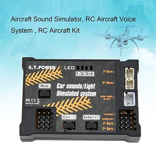 Avion RC Jouet Module Sons/lumière système simulé pour pour pour aéronef Drone véhicule véhicule télécomFemmedé Partie de Bricolage | Vente Chaude  657b9a