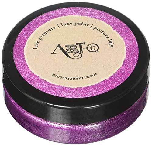 Momenta 26141 Art C Luxe Brilliant Sparkling Glitter Paint 50Ml Magenta Metallic