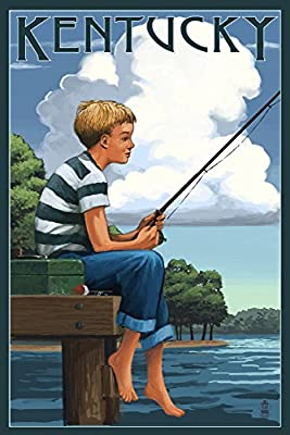 Kentucky - Boy Fishing