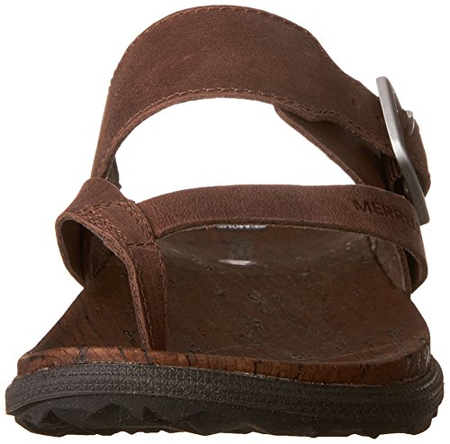 Sandal Around Brown Town Merrell Womens Buckle Thong