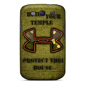 Samsung Galaxy S3 IAW12926kHYg Support Personal Customs Stylish Under Armour Image Perfect Hard Cell-phone Cases -KennethKaczmarek