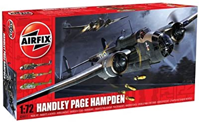 Airfix A04011 Handley Page Hampden 1:72 Scale Military Aircraft Series 4 Model Kit