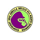 MOVED TO GORILLA DECALS AMAZON HANDMADE STORE 51