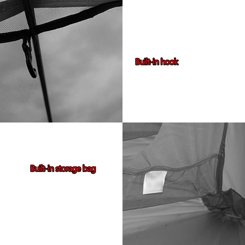 YaNanHome des Im Freien Zelt des zeltzeltes des YaNanHome Zeltes Starkes regendichtes Breathable Zelt 1-2 Leute verbinden Zelt Zelt mit Vier Jahreszeiten (Farbe   ROT, Größe   210  140  110cm) dfd669
