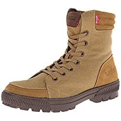 Levi's Men's Clarckson Canvas Combat Boot