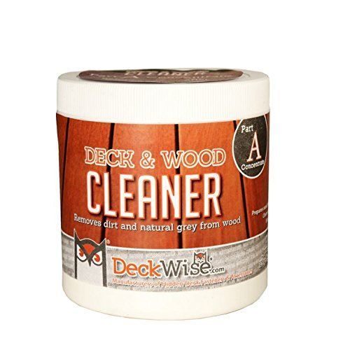 DeckWise Deck & Wood Cleaner - Part 1-16 oz. for 600 Sq. Ft. of Decking by DeckWise (Image #3)