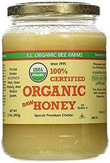 YS Organic Bee Farms CERTIFIED ORGANIC RAW HONEY 100% CERTIFIED ORGANIC HONEY Raw, Unprocessed, Unpasteurized - Kosher 32oz(pack of 1) (B00014JNI0) | Amazon price tracker / tracking, Amazon price history charts, Amazon price watches, Amazon price drop alerts