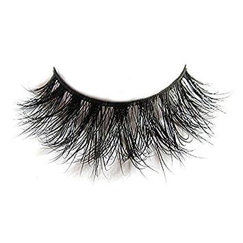 f0314de27e6 Amazon.com : Natural 3D Long Thick Authentic Mink False Eyelashes For makeup  by Arimika Lash : Beauty