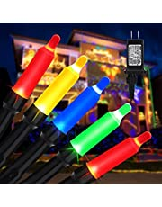 Lyhope Led Christmas Lights, 72ft 200 LED 8 Modes Low Voltage