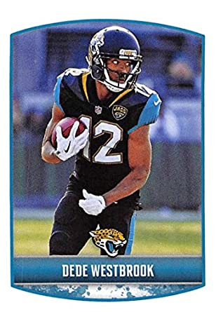 6963fc91c 2018 Panini NFL Stickers Collection  157 Dede Westbrook Jacksonville  Jaguars Official Football Sticker