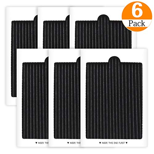 6 Pack Carbon Activated Air Filter Compatible with Frigidaire Electrolux Pure Air Ultra Refrigerator Air Filters Replacement, replaces SCPUREAIR2PK,EAFCBF PAULTRA PureAir Ultra (6 PACK)